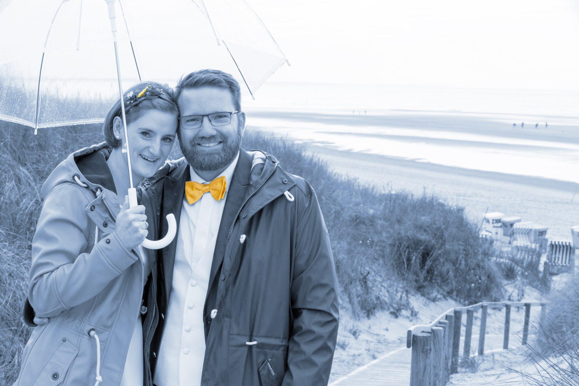 Langeoog Hochzeitsbilder